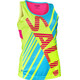 Salming Race Running Shirt sleeveless Women yellow/blue